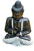Buddha isolated on white — Stock Photo