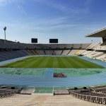 olympiastadion in barcelona — Stockfoto