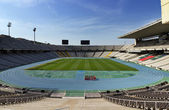 Olympic stadium in Barcelona — Stock Photo