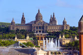National Museum in Barcelona. Spain — Stock Photo