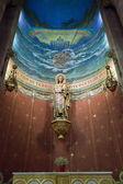 Mosaico de jesus cristo no templo do sagrado coração, barcelona, — Foto Stock