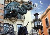 Dragon. Barcelona landmark, Spain. — Stock Photo
