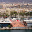 Port. Barcelona landmark, Spain. — Stock Photo