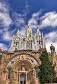 The Temple del Sagrat Cor. Barcelona landmark, Spain. — Stock Photo