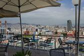 Panoráma města barcelona, španělsko. — Stock fotografie