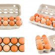 Eggs set — Stock Photo #26933919