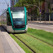 Tram in Barcelona — Foto Stock