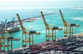Port of Barcelona — Stock Photo