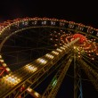 Ferris wheel illuminated — Stock Photo