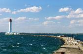 Vorontsovsky lighthouse seascape — Stock Photo