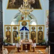 Church interior in the Monastery. Ukraine. — Stock Photo