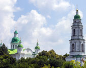 Bell tower and Church Monastery. Ukraine. — Stock Photo