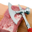 Meat beef steak — Stockfoto