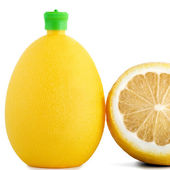 Citric acid in bottle — Stock Photo