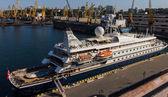 Cruise ship SEA DREAM — Stock Photo