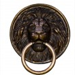Lion bronze — Stock Photo