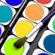 Paints of the artist — Stock Photo