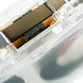 Zvuková kazeta prázdná — Stock fotografie