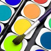 Pinturas do artista — Foto Stock