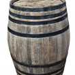 Old barrel wine — Stock Photo