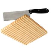 нож на кухне совет — Стоковое фото