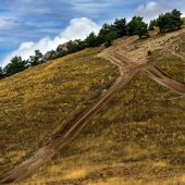 Road in mountains — Stock Photo