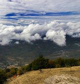 Mountain beauty in autumn season — Stock Photo