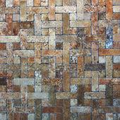 Mosaic tiles texture — Stock Photo