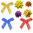 Set bows — Stock Photo