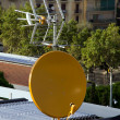 Satellite dish antenna — Stock fotografie