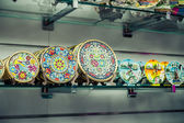 Souvenirs of the Barcelona mosaic — Stock Photo