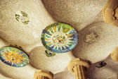 Park Guell in Barcelona. Catalonia, Spain — Stock Photo