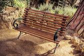Park guell v Barceloně. Katalánsko, Španělsko — Stock fotografie