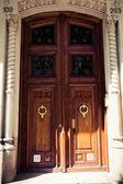 Stare drewniane drzwi — Zdjęcie stockowe