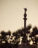 Columbus Barcelona. Catalonia, Spain. — Fotografia Stock
