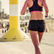 Running fitness training — Foto Stock