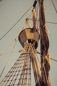 Old sailship — Stock Photo