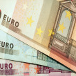 Banknotes background — Stock Photo