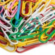 Paper clip set — Stock Photo