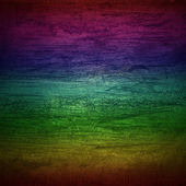 Rainbow wall wood texture — Stock Photo