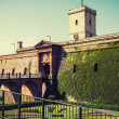 Stock Photo: Montjuic Castle Barcelona. Catalonia, Spain.