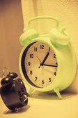 Old style alarm clock — Stock Photo