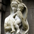 Virgin Mary carrying the baby Jesus — Stock Photo #38208239