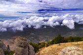 Scenic mountain landscape — Stock Photo