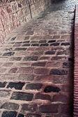Bricks stone road — Stockfoto