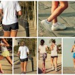 Stock Photo: Girl jog