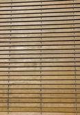 Wooden jalousie — Stock Photo