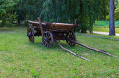 Old carriage cart — Stock Photo