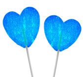 Blue hearts — Stock Photo