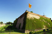 Barcelona fortress Castell de Montjuic — Stock Photo